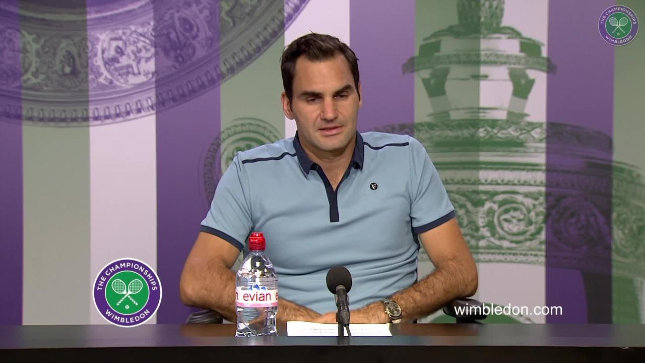 Roger Federer Third Round Press Conference 2017