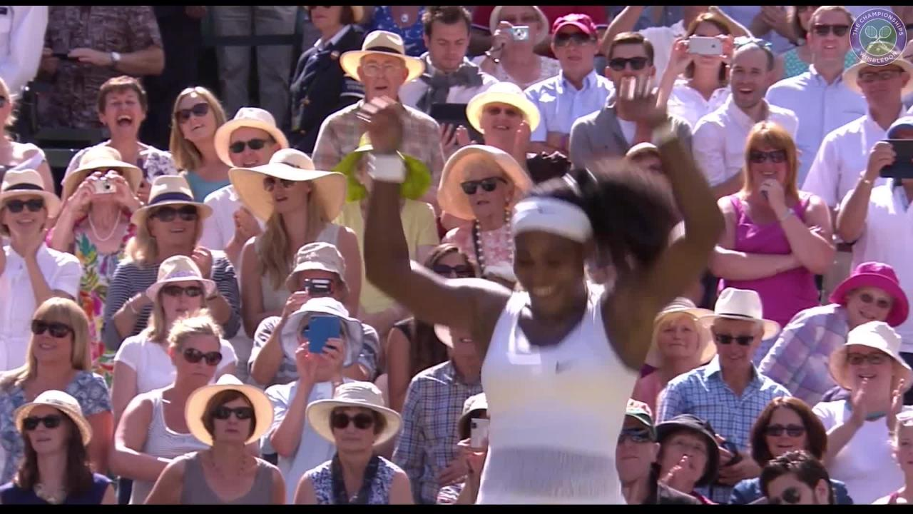 Serena makes it six