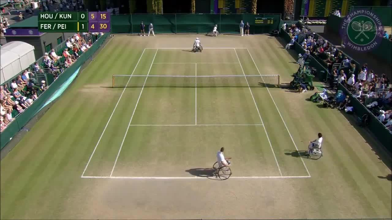 Incredible wheelchair doubles point from 2016