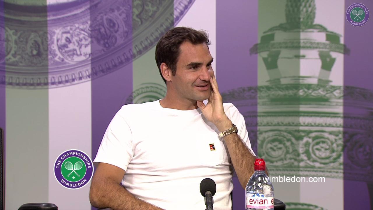 Roger Federer Quarter-Final Press Conference 2017