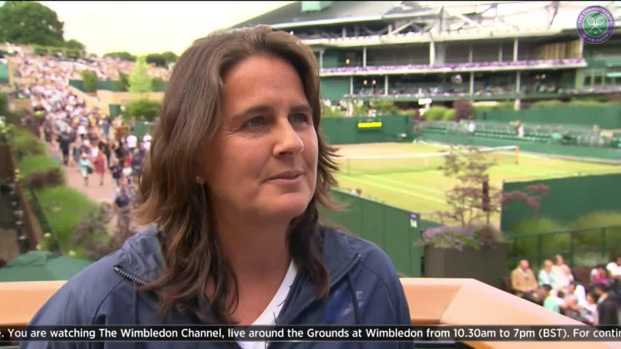 Conchita Martinez on Muguruza's run to the final