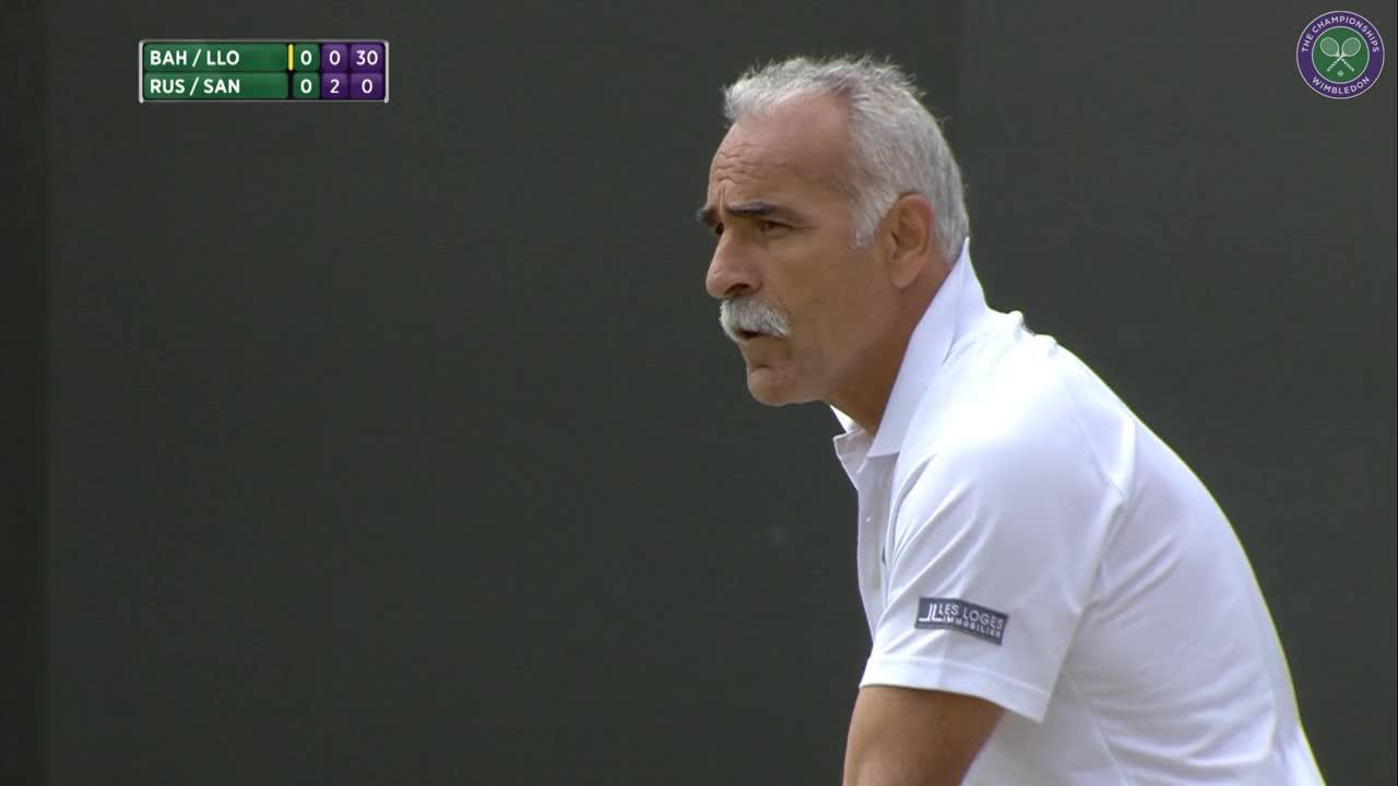 The tweener show! Bahrami & co with the skills
