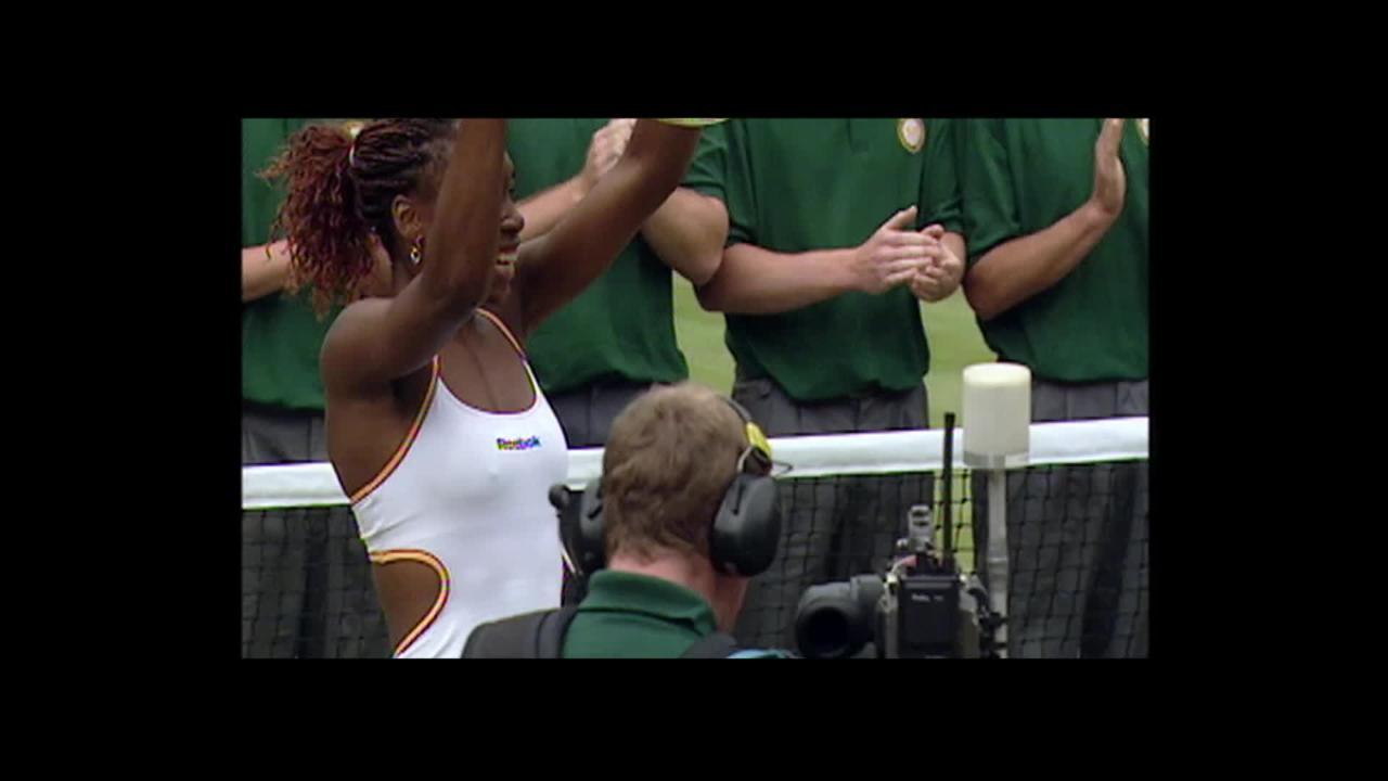 Venus' Wimbledon journey