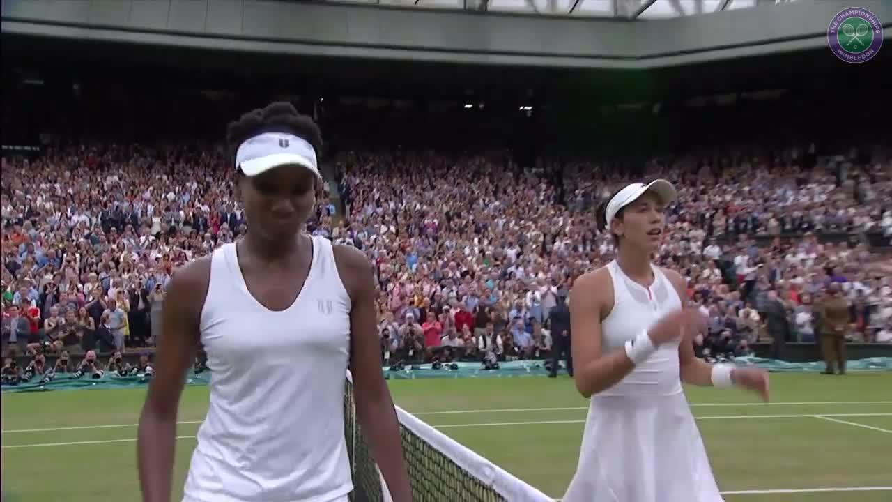 Muguruza wins Wimbledon title