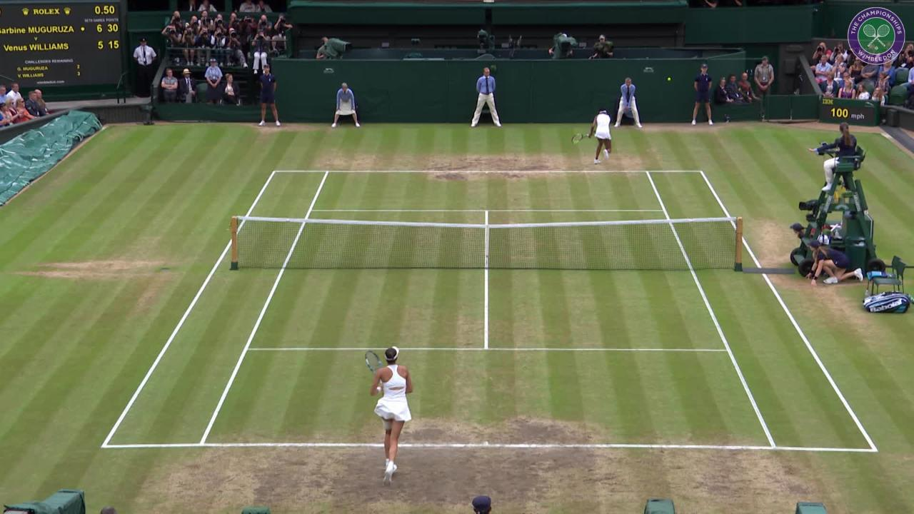 HSBC Play of the Day - Garbiñe Muguruza