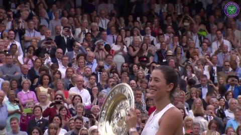 Spain's singles champions at Wimbledon