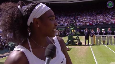 She knew...Serena predicts Muguruza win