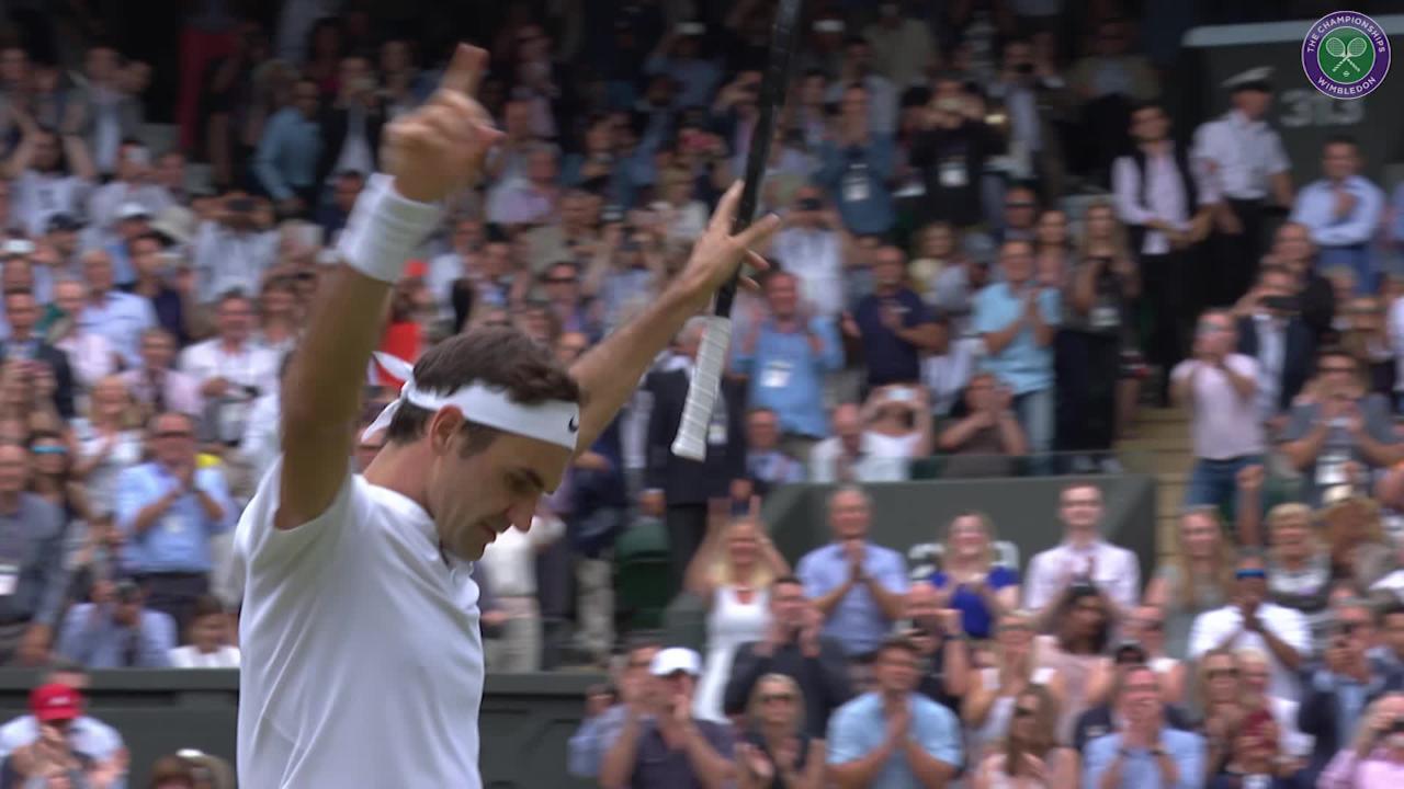 It's coming... The Wimbledon men's final