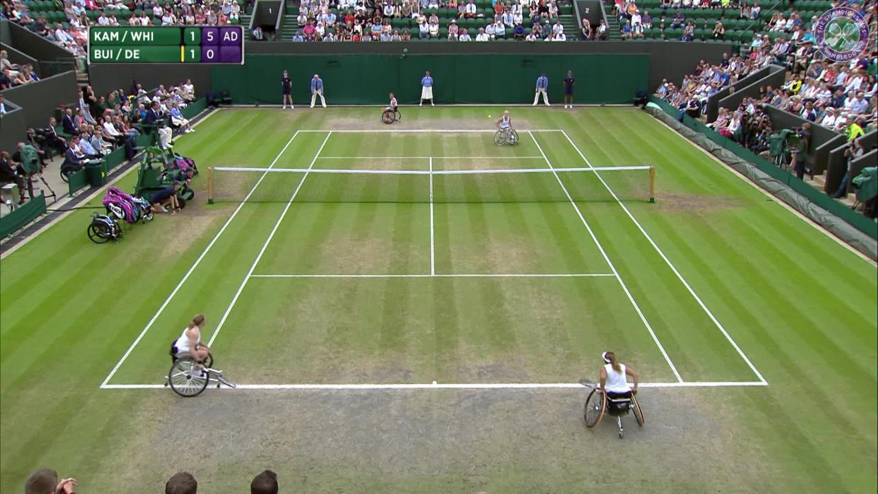 Whiley & Kamiji retain ladies' wheelchair doubles title