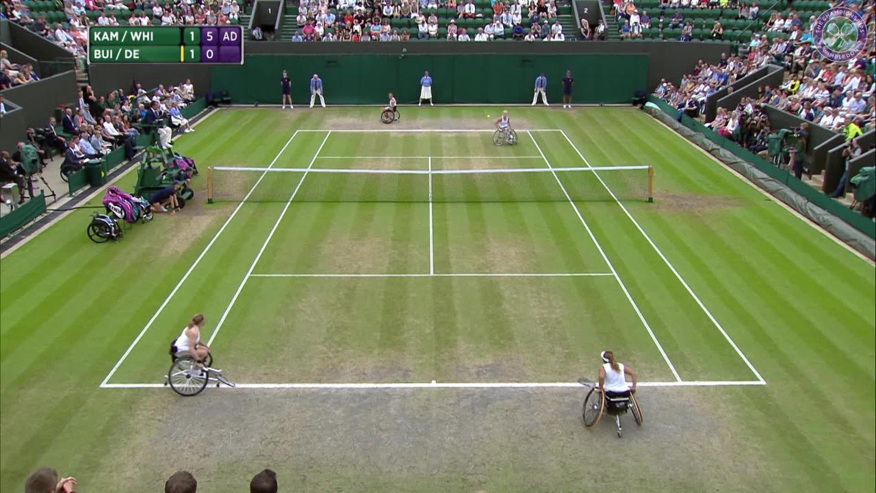 Whiley & Kamiji retain ladies' wheelchair doubles title