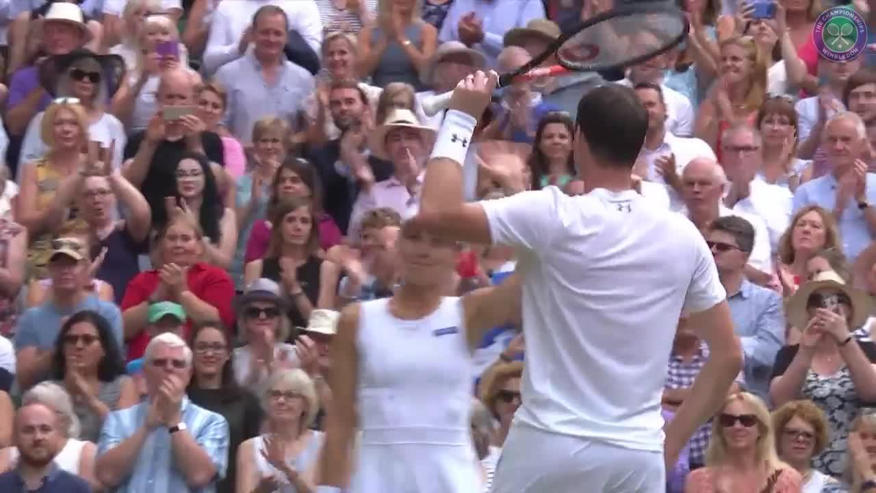 Murray & Hingis' moment of triumph