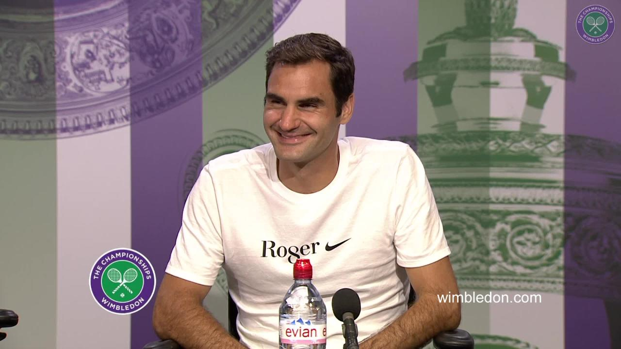 WATCH: Roger Federer Winner's Press Conference