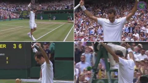 Federer's triumph from every angle