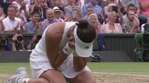 Reliving Muguruza's Wimbledon breakthrough