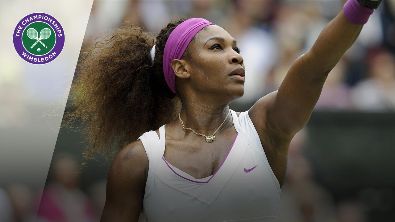 Throwback Thursday: Serena's straight aces