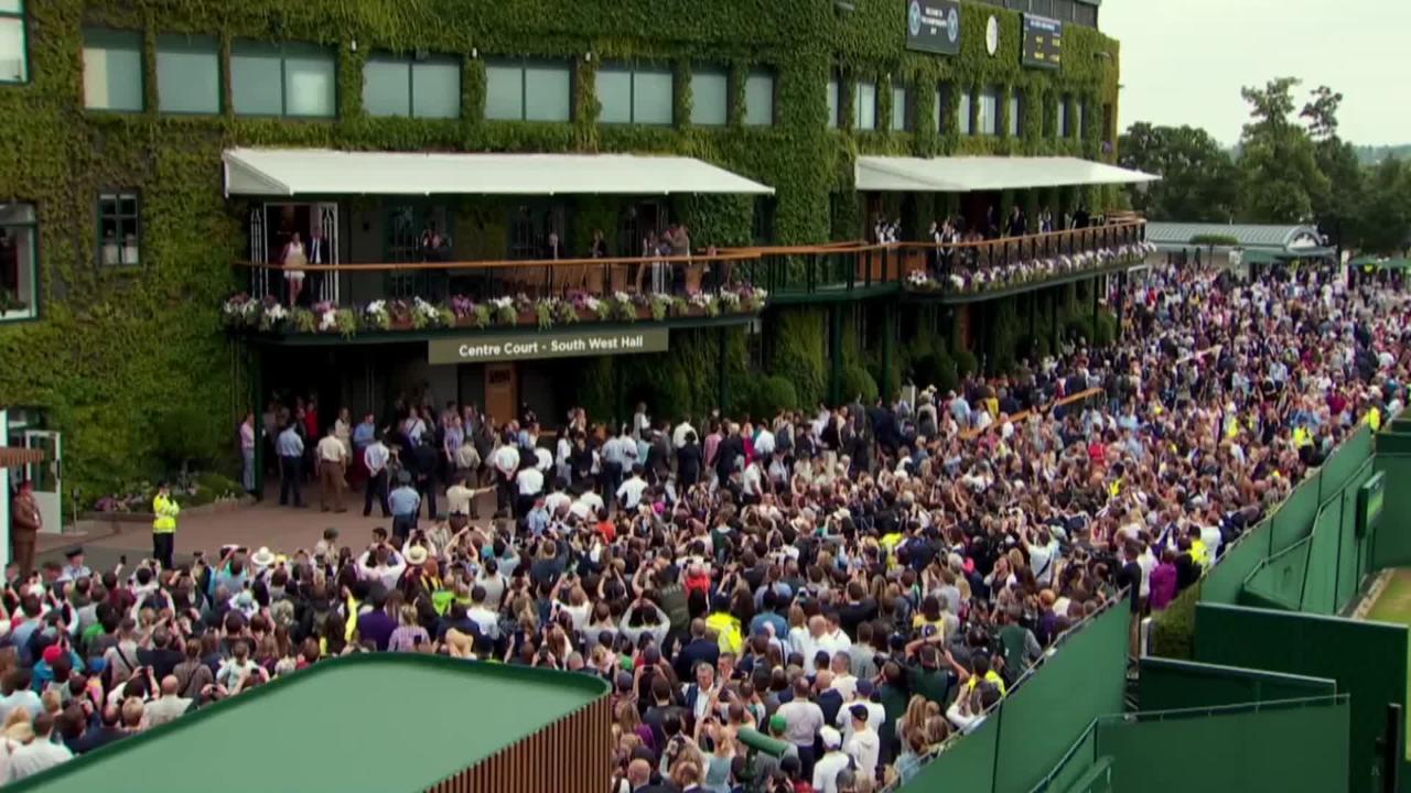Garbine Muguruza looks back at maiden Wimbledon title