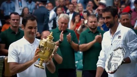 Federer congratulated on 20 Grand Slam titles
