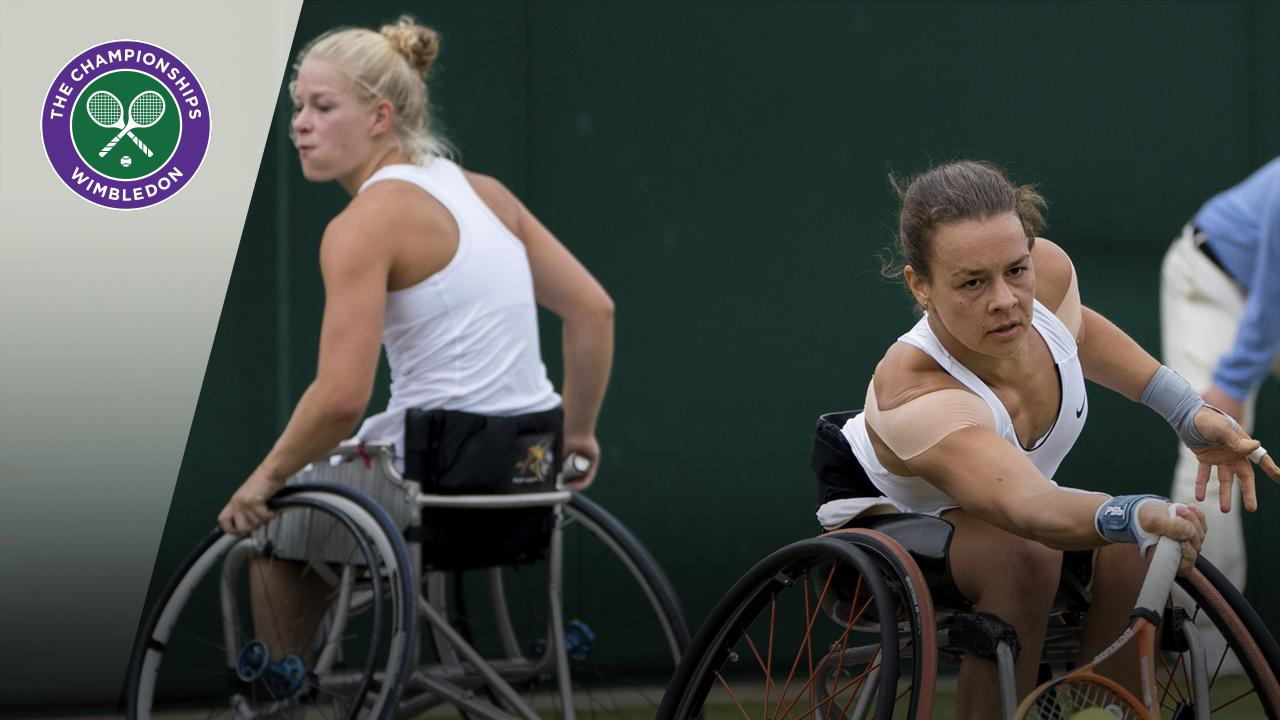 Throwback Thursday: 37-shot rally in ladies' wheelchair doubles