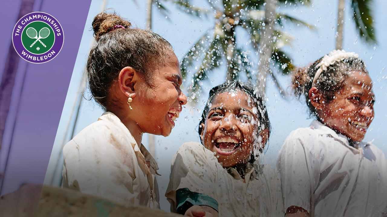 The Wimbledon Foundation and WaterAid