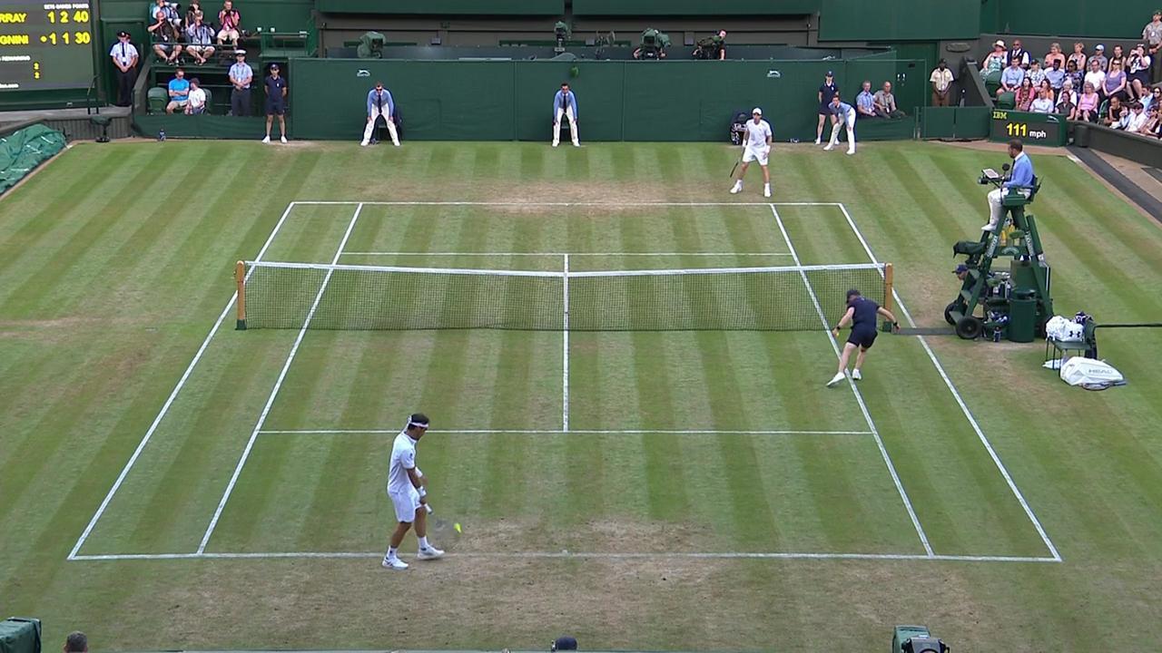 2017, Third Round Highlights, Andy Murray vs Fabio Fognini