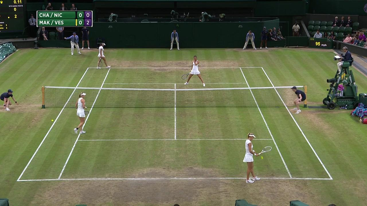 2017, Final Highlights,  Chan/Niculescu vs  Makarova/Vesnina
