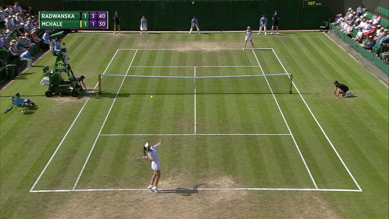 2017, Second Round Highlights, Agnieszka Radwanska vs Christina McHale
