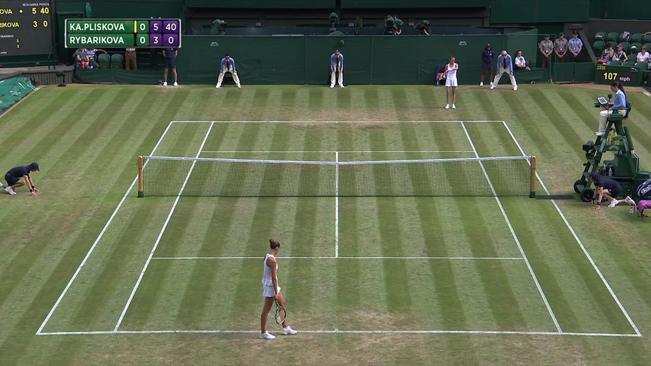 2017, Second Round Highlights, Karolina Pliskova vs Magdalena Rybarikova