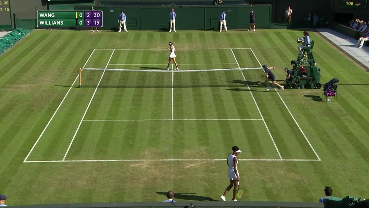 2017, Second Round Highlights, Qiang Wang vs Venus Williams
