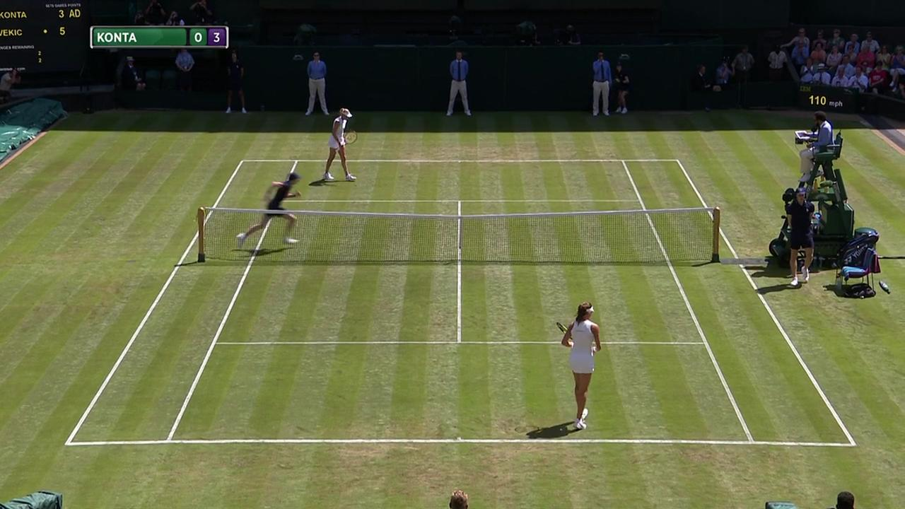 2017, Second Round Highlights, Johanna Konta vs Donna Vekic
