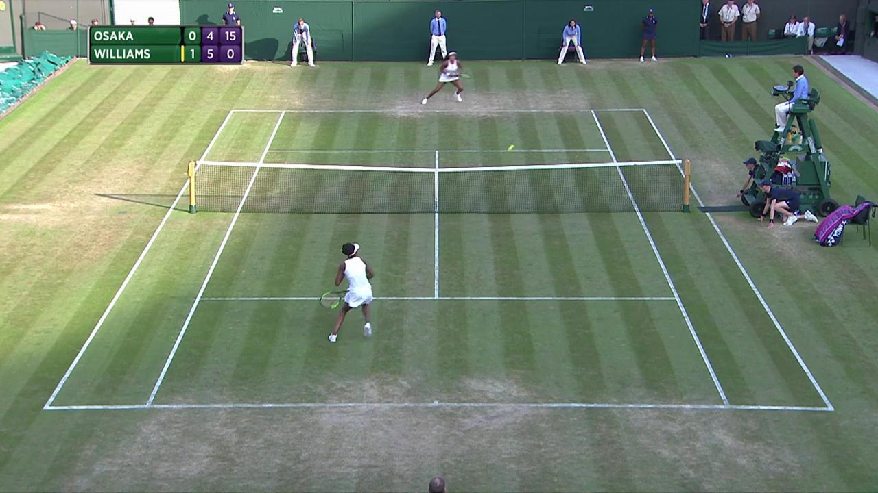 2017, Third Round Highlights, Naomi Osaka vs Venus Williams