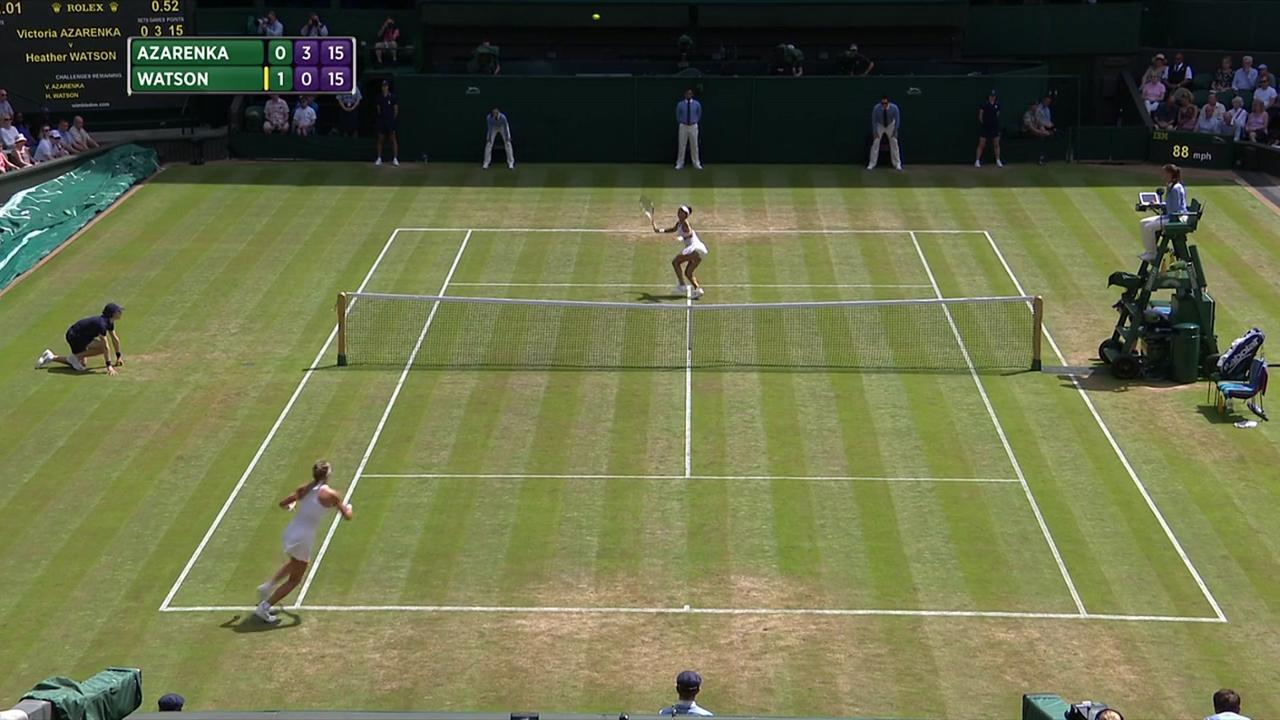 2017, Third Round Highlights, Victoria Azarenka vs Heather Watson