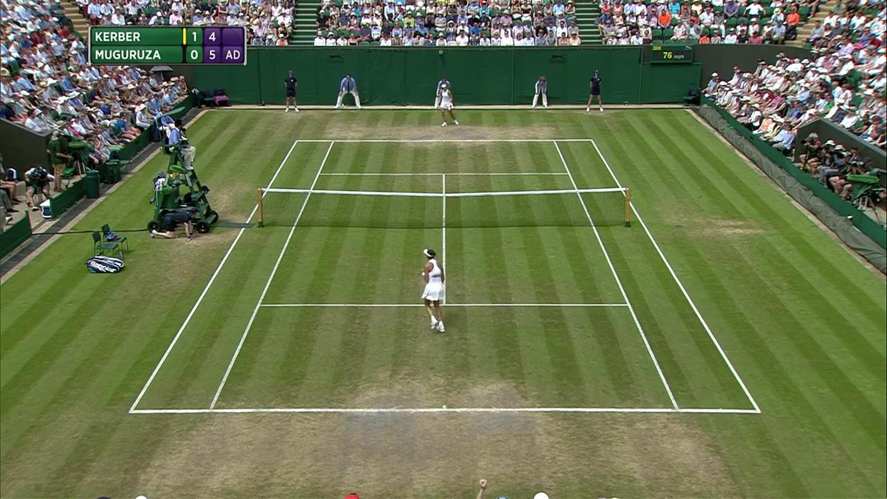 2017, Fourth Round Highlights, Angelique Kerber vs Garbine Muguruza