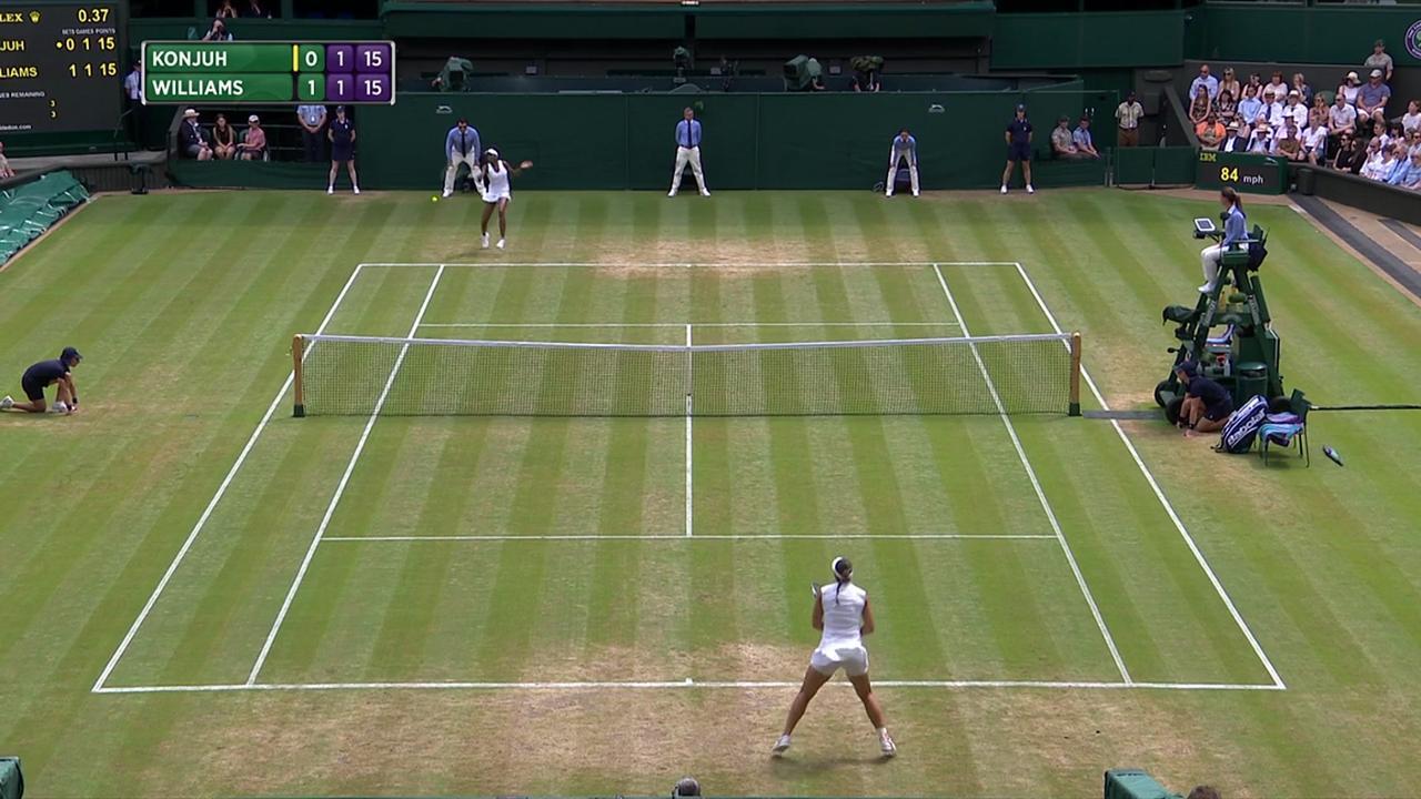 2017, Fourth Round Highlights, Ana Konjuh vs Venus Williams