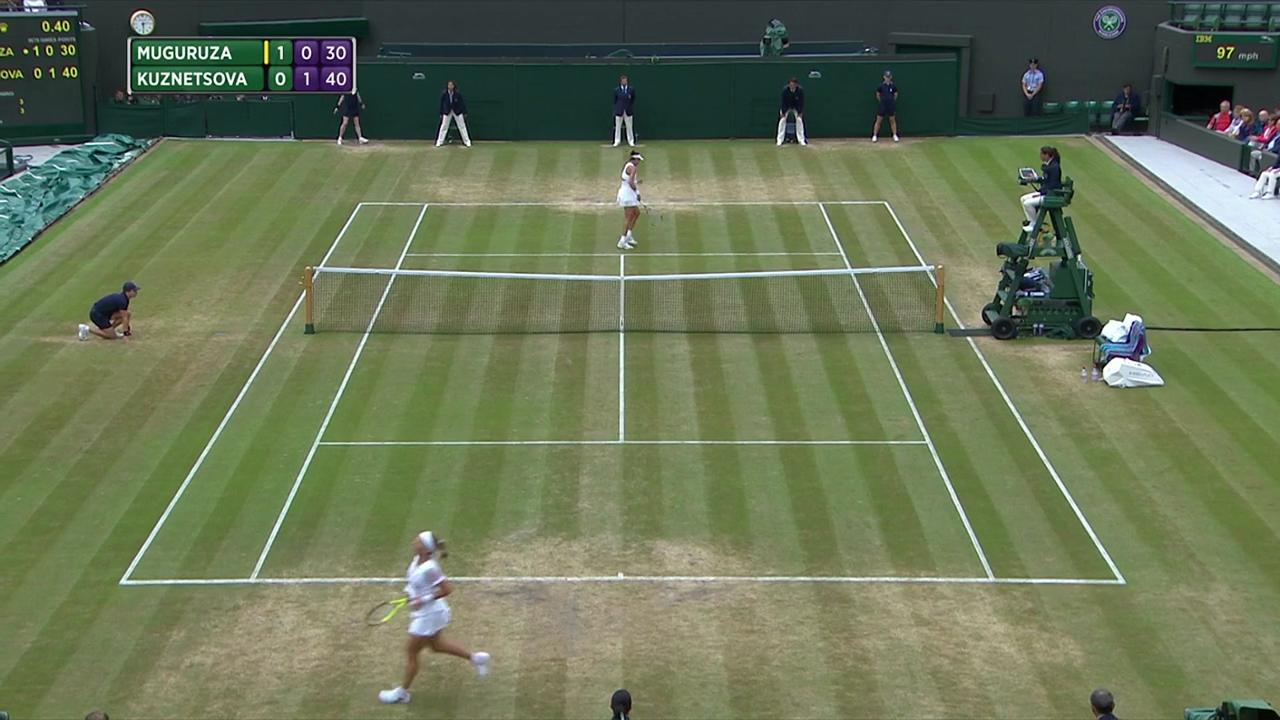 2017, QF Highlights, Garbine Muguruza vs Svetlana Kuznetsova