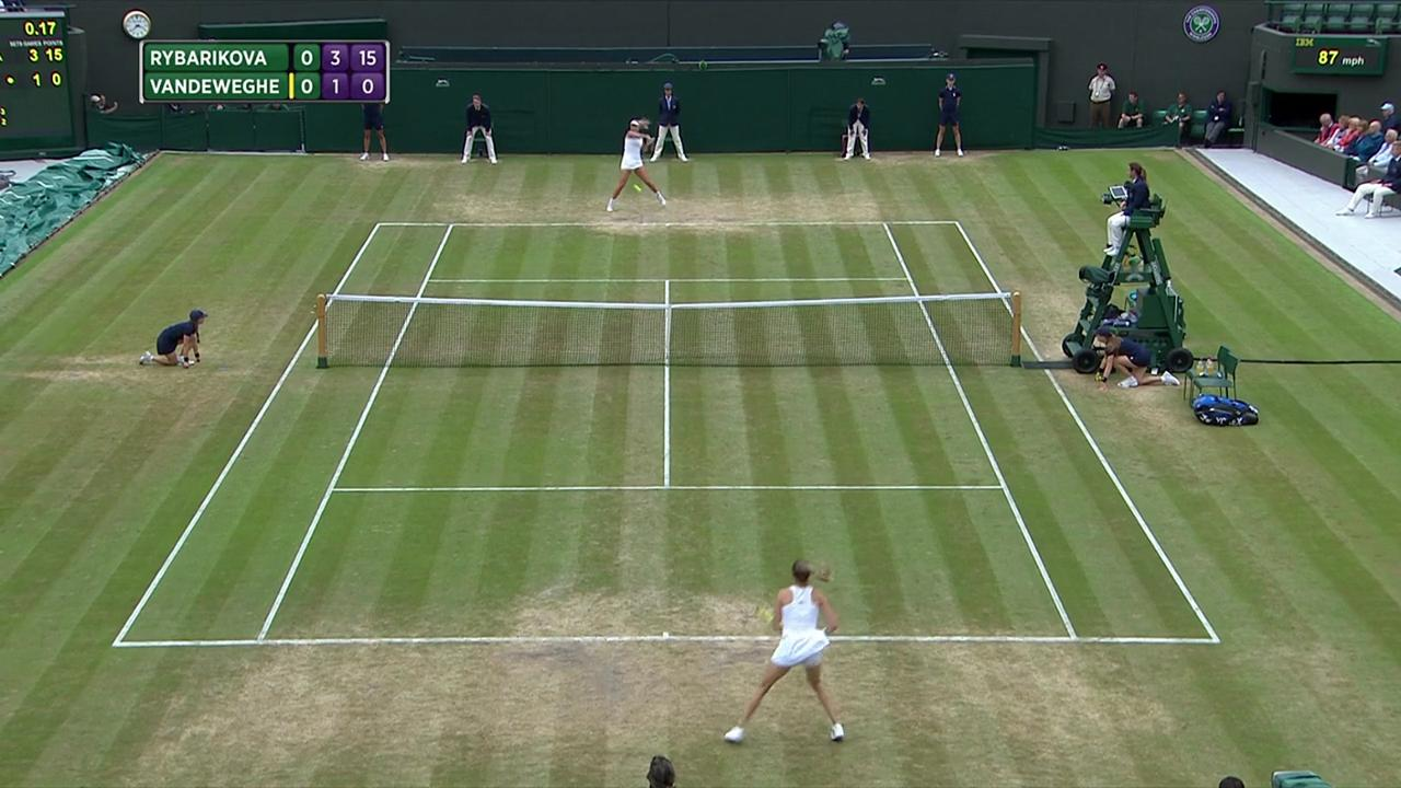 2017, QF Highlights, Magdalena Rybarikova vs Coco Vandeweghe
