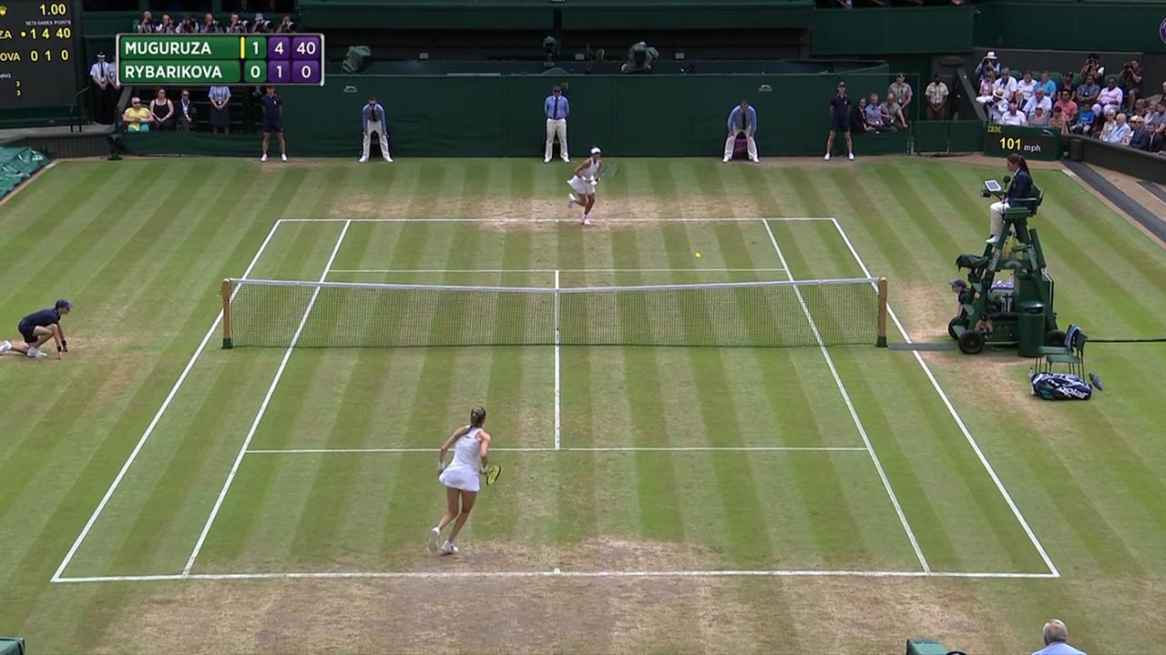 2017, SF Highlights, Garbine Muguruza vs Magdalena Rybarikova