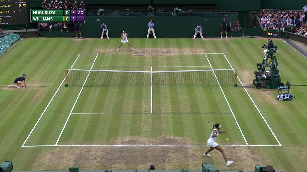 2017, Final Highlights, Garbine Muguruza vs Venus Williams