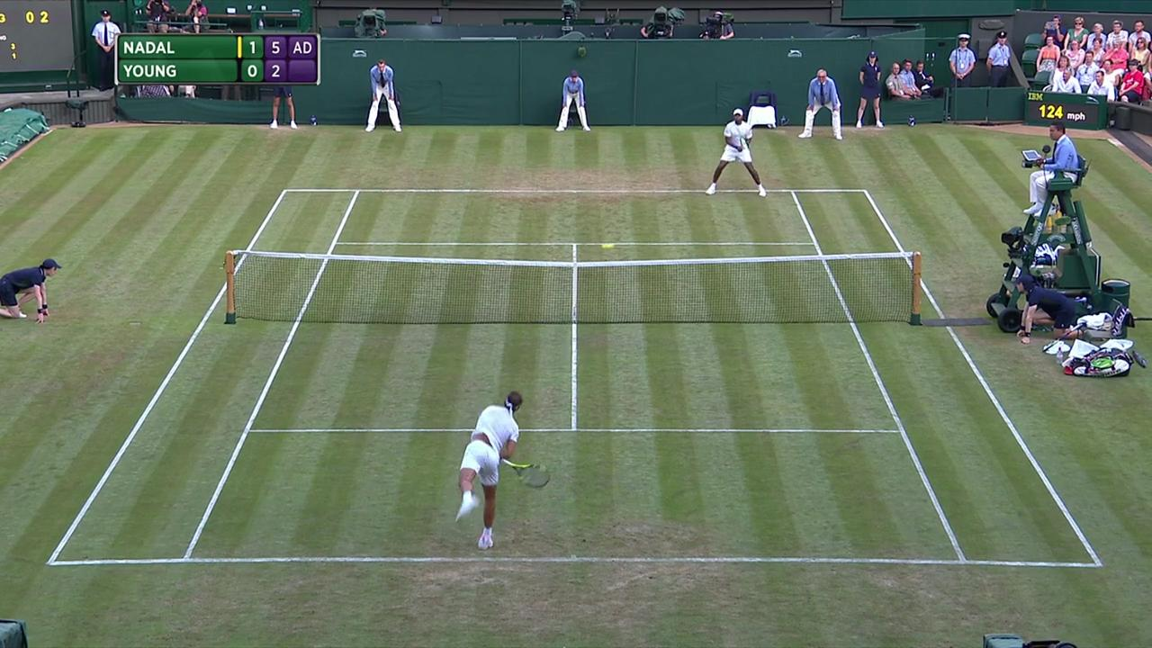 2017, Second Round Highlights, Rafael Nadal vs Donald Young