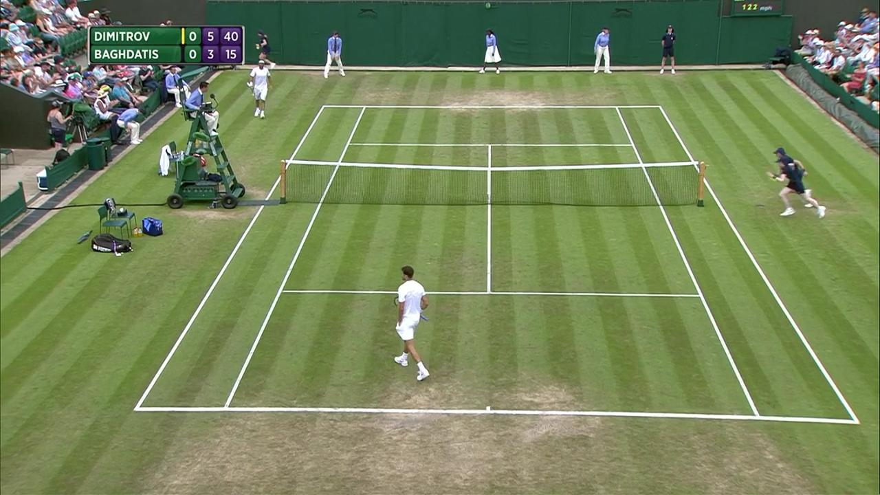 2017, Second Round Highlights, Grigor Dimitrov vs Marcos Baghdatis