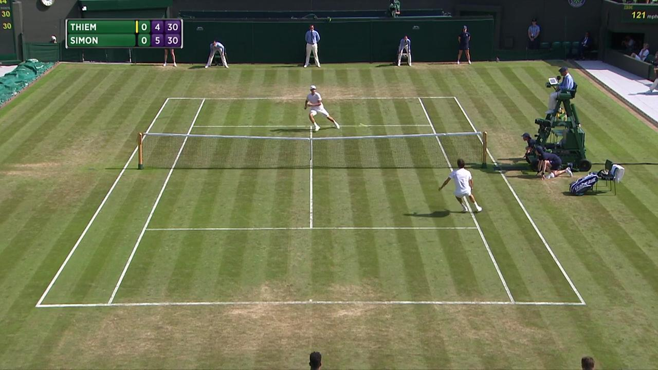 2017, Second Round Highlights, Dominic Thiem vs Gilles Simon