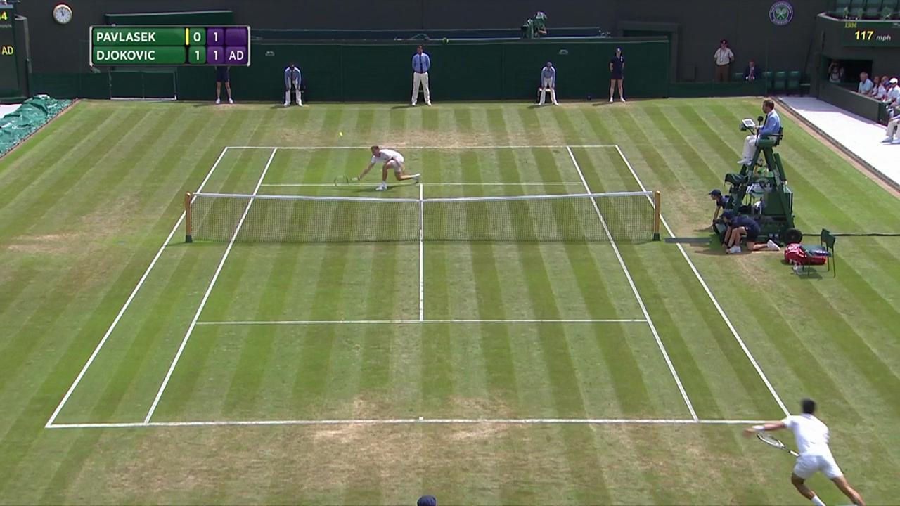 2017, Second Round Highlights, Adam Pavlasek vs Novak Djokovic
