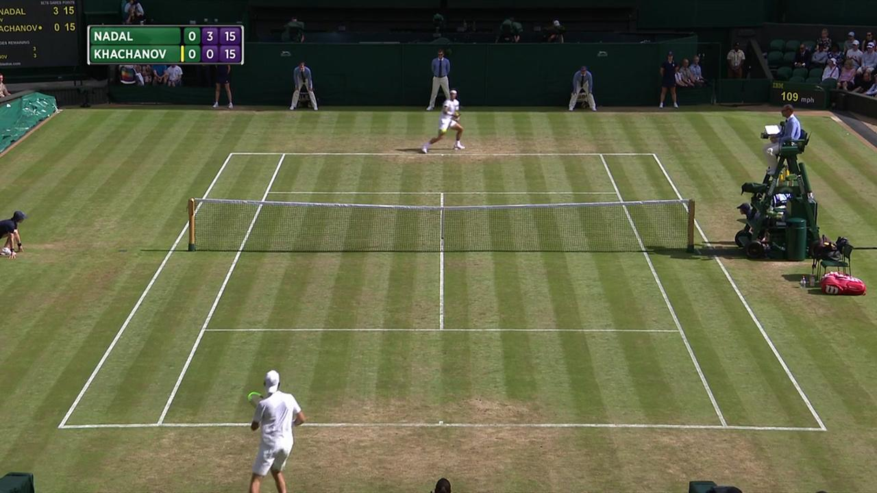 2017, Third Round Highlights, Rafael Nadal vs Karen Khachanov