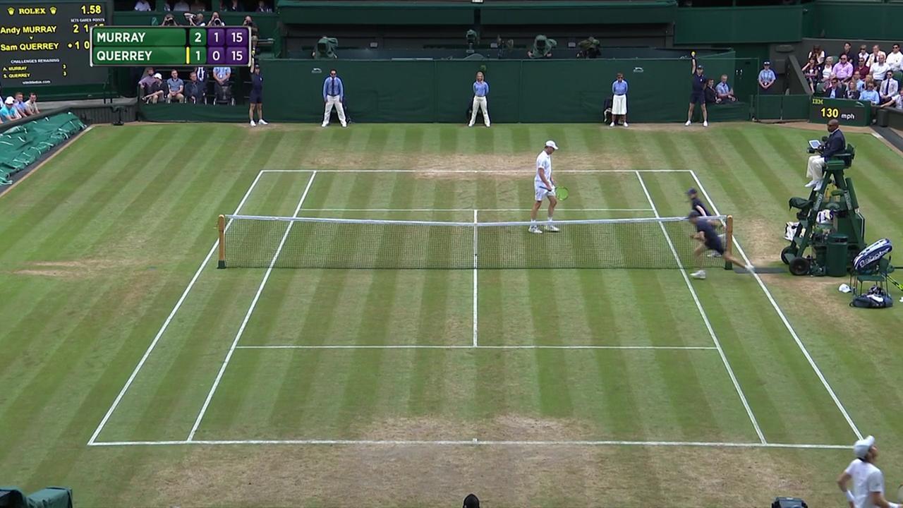 2017, QF Highlights, Andy Murray vs Sam Querrey
