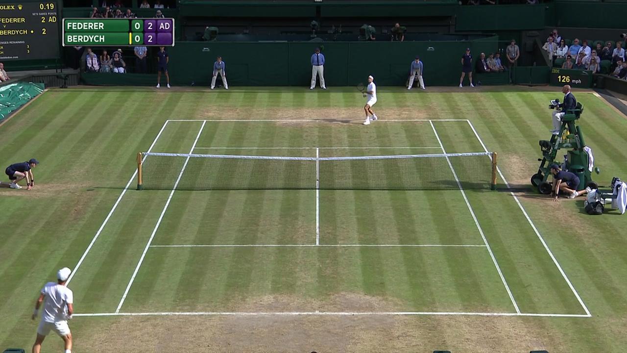 2017, SF Highlights, Roger Federer vs Tomas Berdych