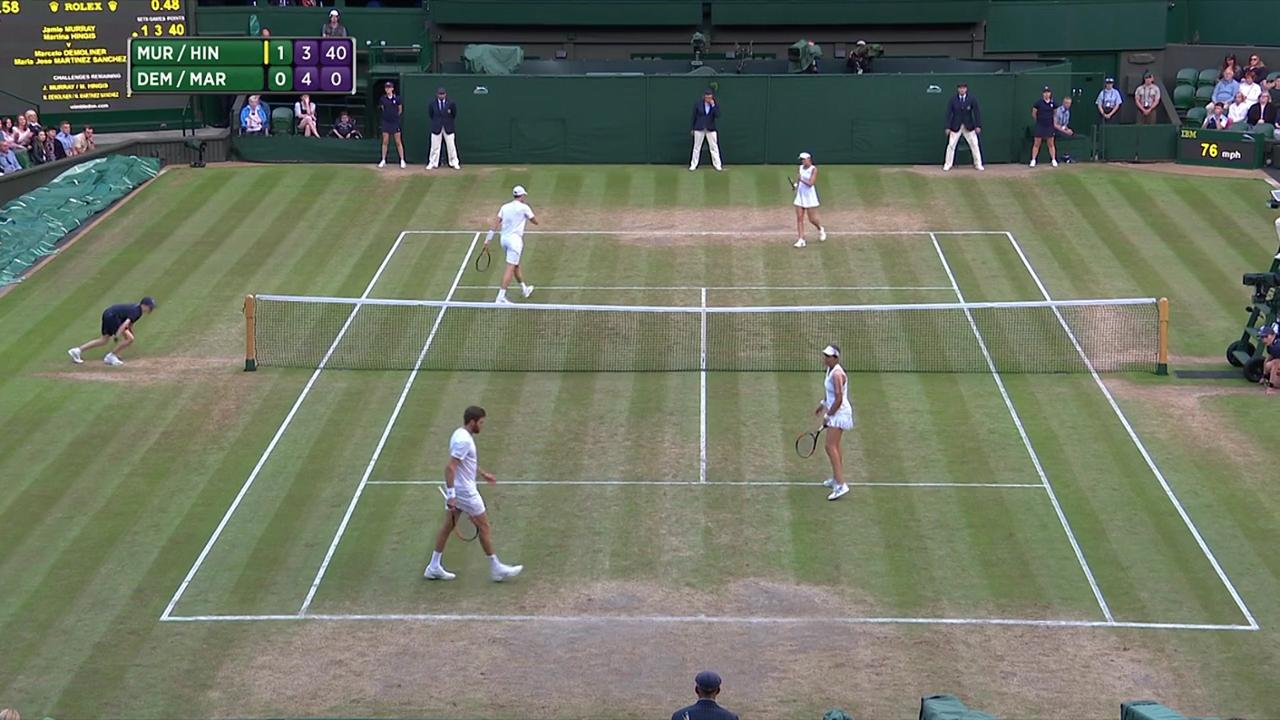 2017, SF Highlights,  Murray/Hingis vs  Demoliner/Martinez Sanchez