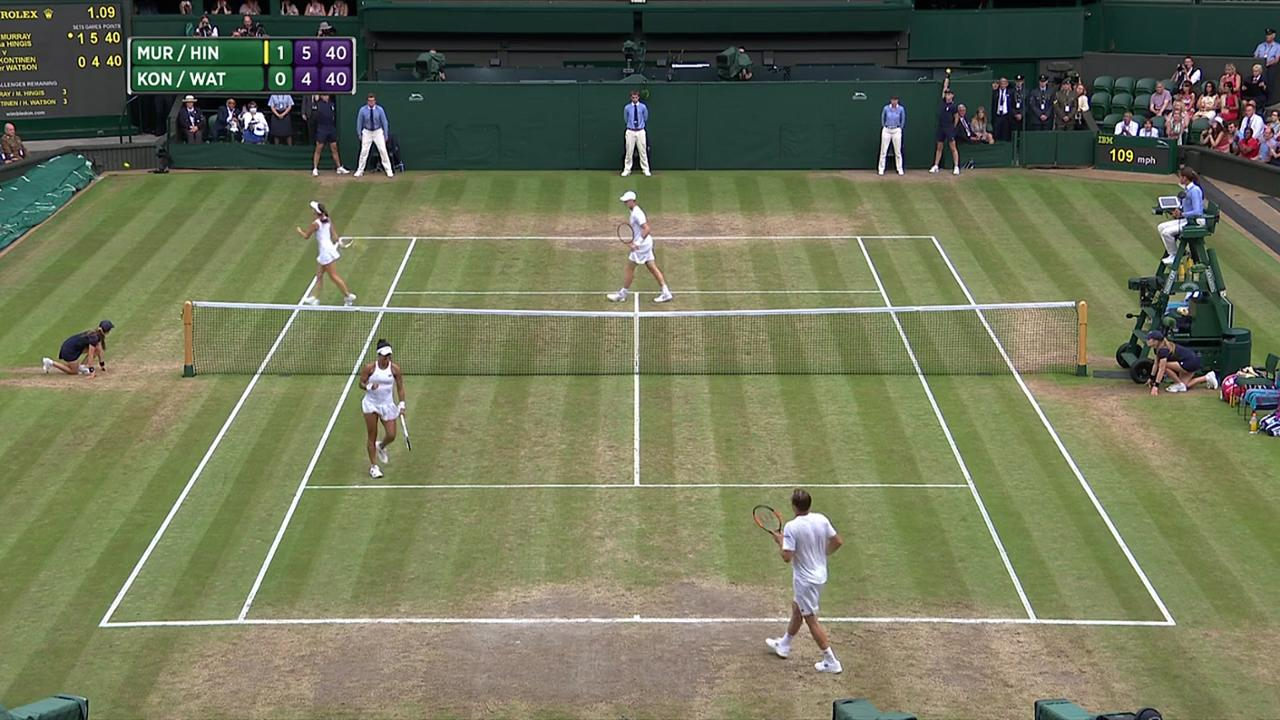 2017, Final Highlights,  Murray/Hingis vs  Kontinen/Watson